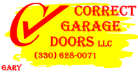 Correct Garage Doors Logo
